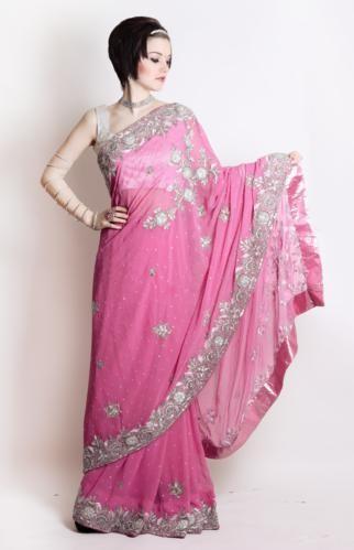 Sugar Pink Sari