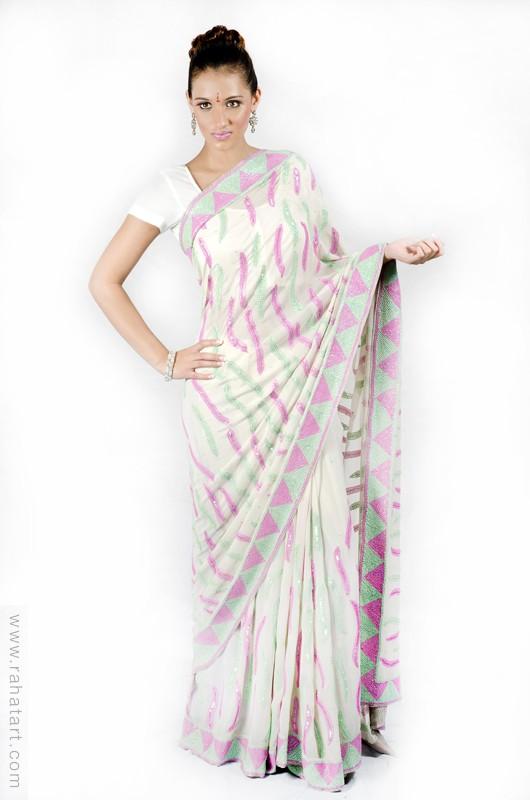 Pretty Peacock Sari
