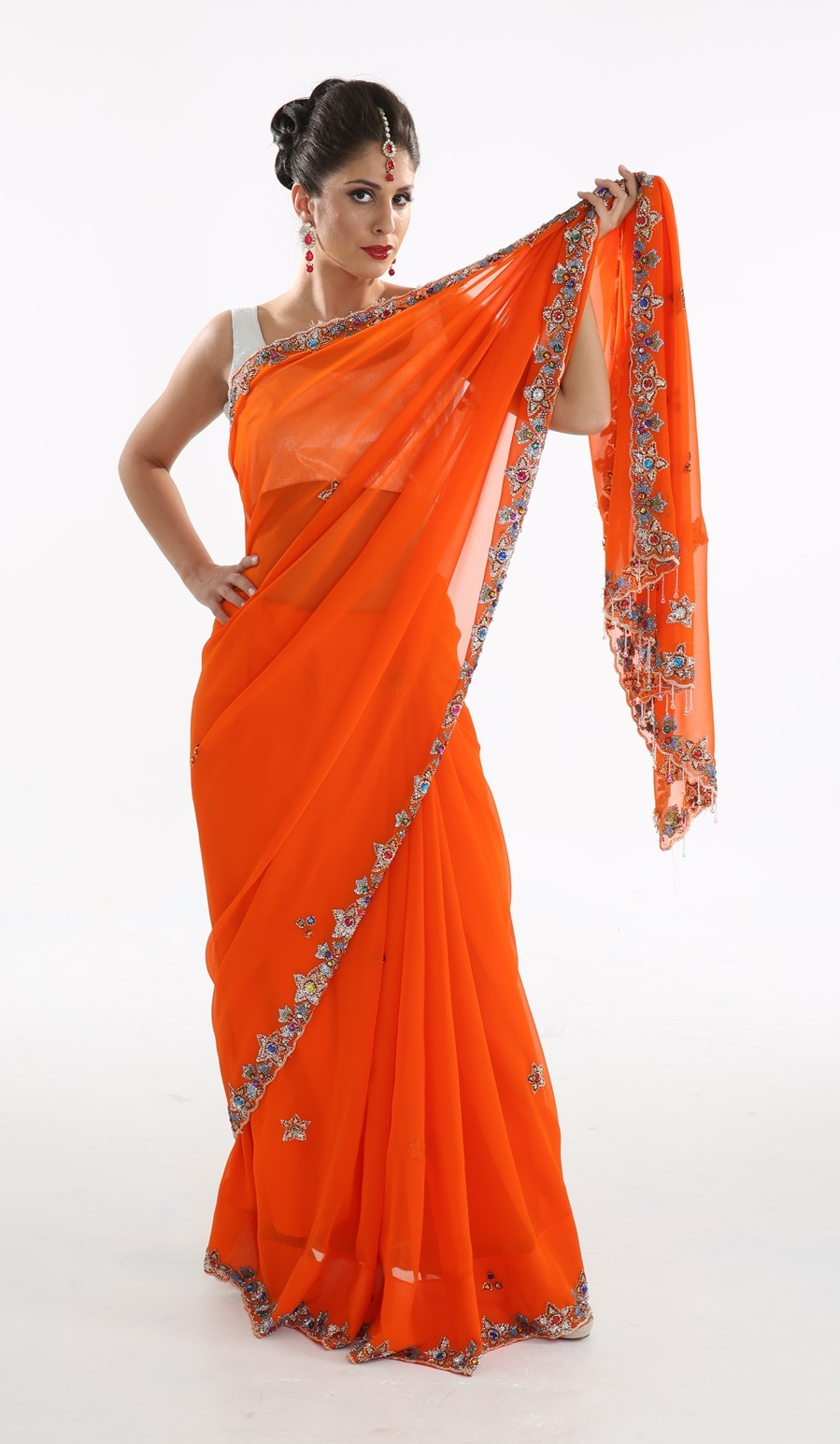 Bollywood Bright Sari