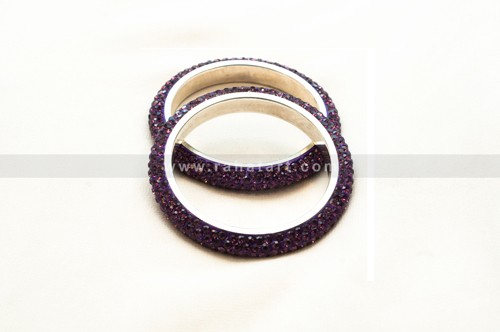 Crystal Cluster Bangle