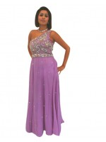 A-Symetric Back Maxi Dress