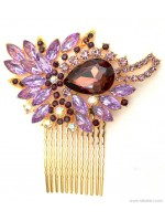 Jewel Stone Hair Comb