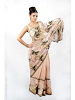 Delicate Floral Sari