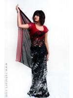 Hot Printed Sari