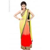 Triple Shilpa Sari