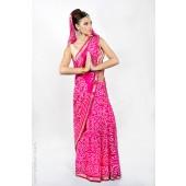 Traditional Printed Sari