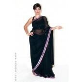 V Inspired Sari