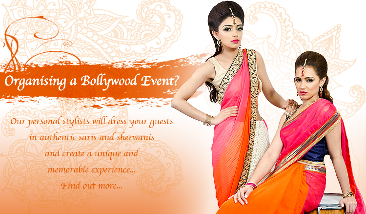 Organising a bollywood event