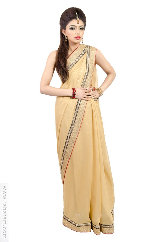 Bollywood Gold Sari
