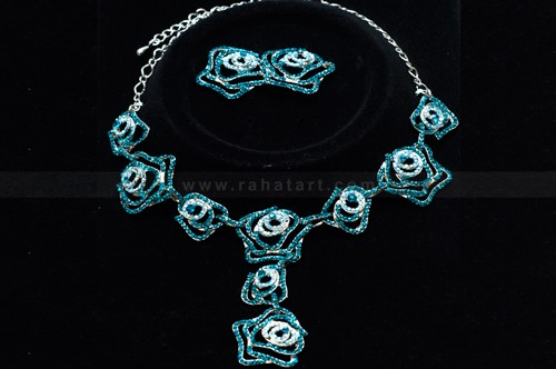Floral Stone Necklace