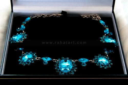Caribbean Gem Stone Necklace