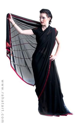 Jazzy Sequin Sari